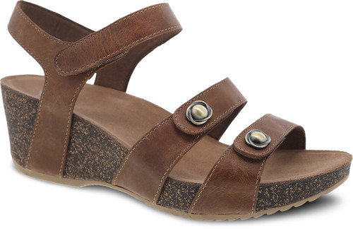 Dansko Women's Savannah - Tan Waxy Burnished