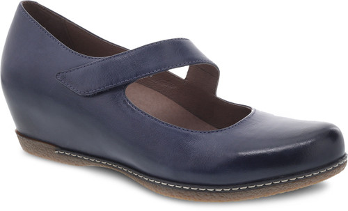 Dansko Women's Lanie - Blue Burnished Nubuck