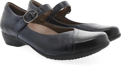 Dansko Women's Fawna - Navy Burnished