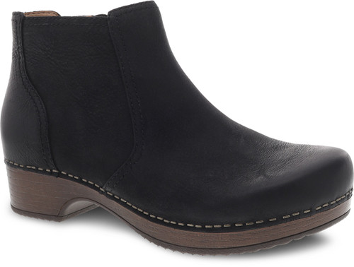 Dansko Women's Barbara - Black Burnished Nubuck
