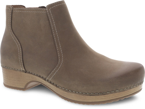 Dansko Women's Barbara - Taupe Burnished Nubuck