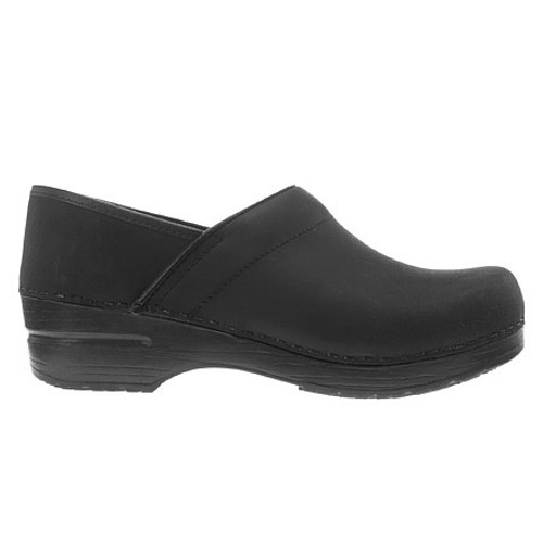 Dansko Women's Professional Narrow - Black Oiled