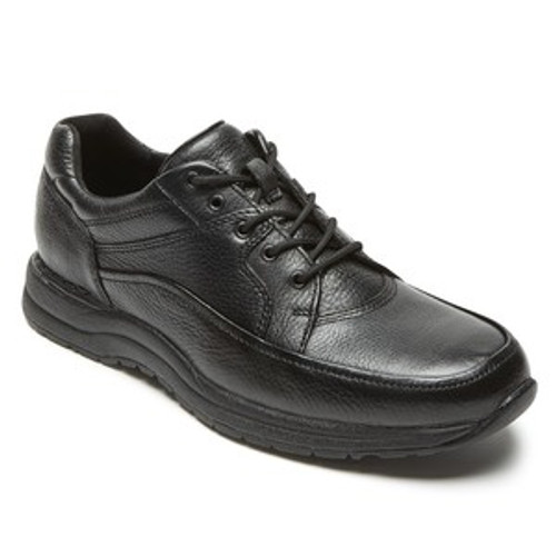 Black casual dress lace up with memory foam insole.