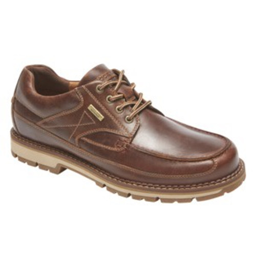 Brown moc lace up by Rockport.