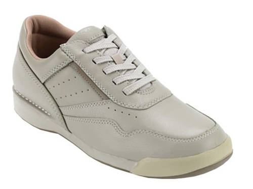 A classic sport white Athletic lace up shoe by Rockport.