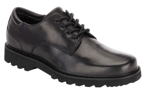 Black casual dress lace up by Rockport.