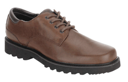 Dark Brown casual dress lace up by Rockport.