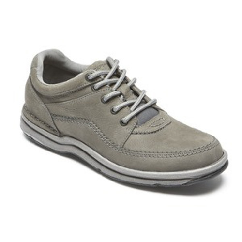 Grey World tour by Rockport is a classic lace up used for travel or long days on your feet.