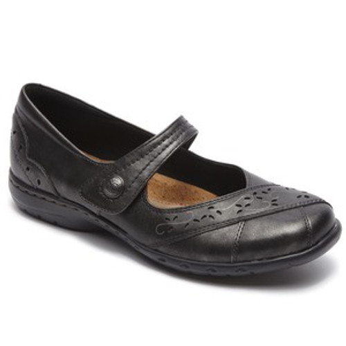 Pewter casual mary jane by Rockport.