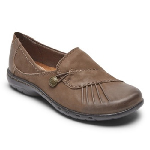 Brown Slip on Casual Dress Shoes by Rockport.