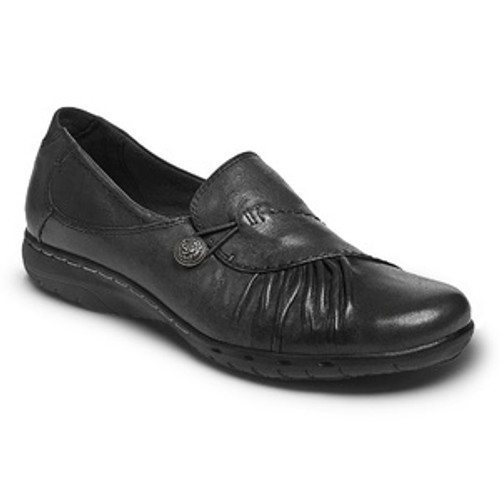 Black Slip on Casual Dress Shoes by Rockport.
