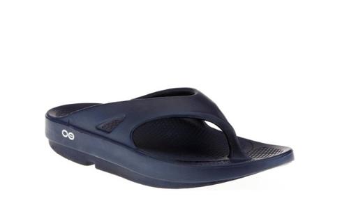 Oofos Ooriginal Thong Sandal - Navy