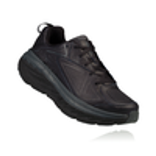 Hoka One One Women's Bondi Leather Wide - Black
