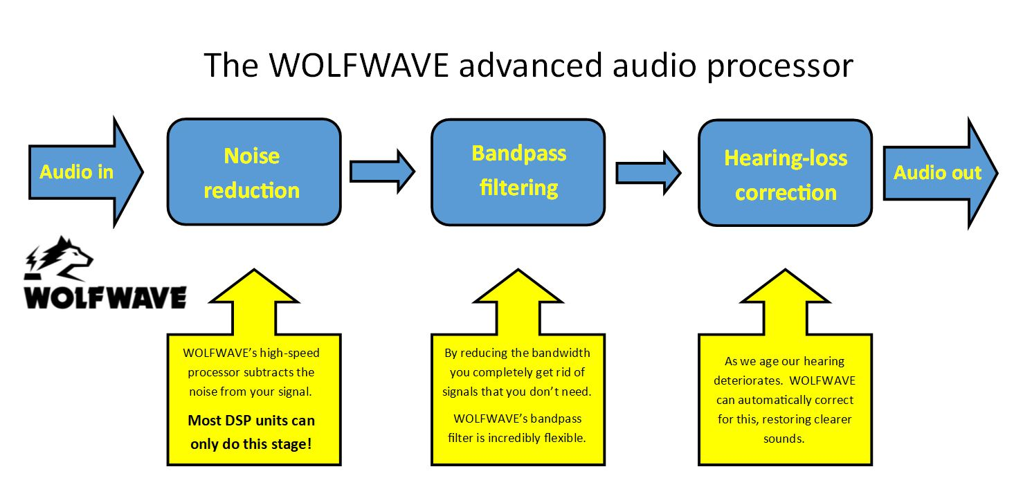 WOLFWAVE Advanced Audio Processor