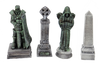 1305-Cemetery Statues 4pc
