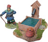 1084-Medieval Water Trough 3ea