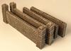 1059-Large Stone Wall 6pc Set