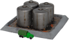 6mm Oil tanks with Berm