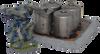 6mm Terrain Industrial Oil tanks