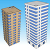 1337-Skyscraper Set 2pc