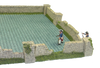 1287-Farm Stone Wall Ruin Wall Set Slate