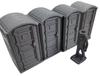 28mm Modern Porta Potty with figure