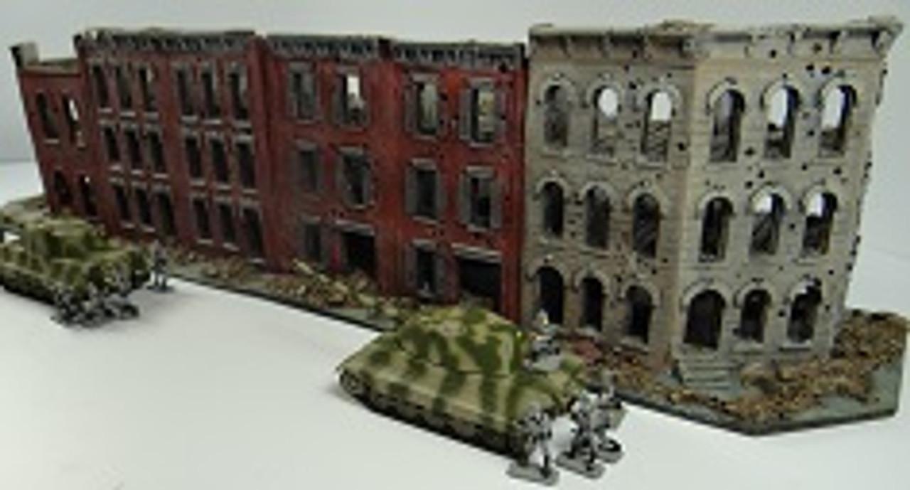 1032-3 Story City Block Corner Ruins