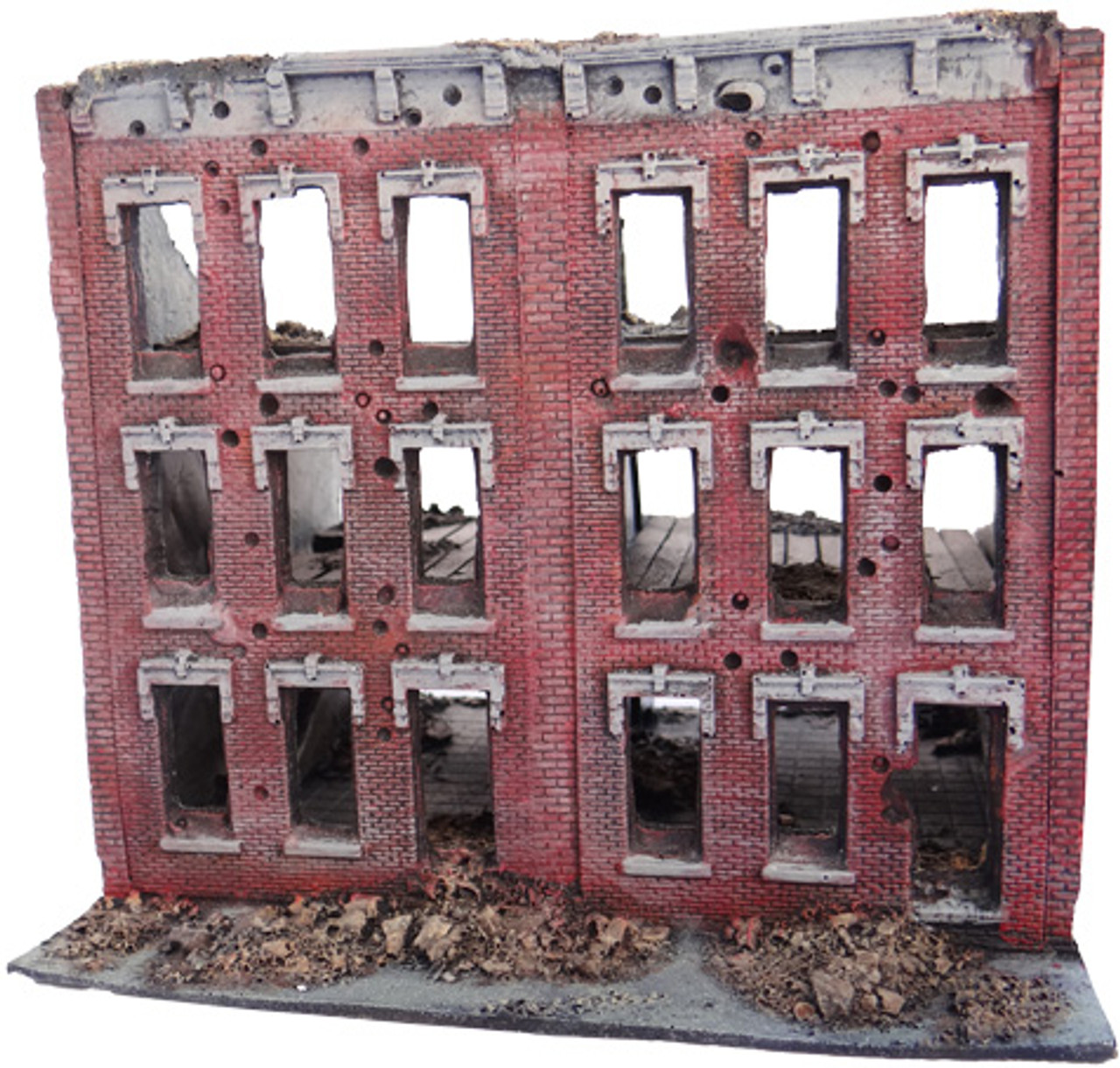 1034-3 Story 8 Window City Block Ruins
