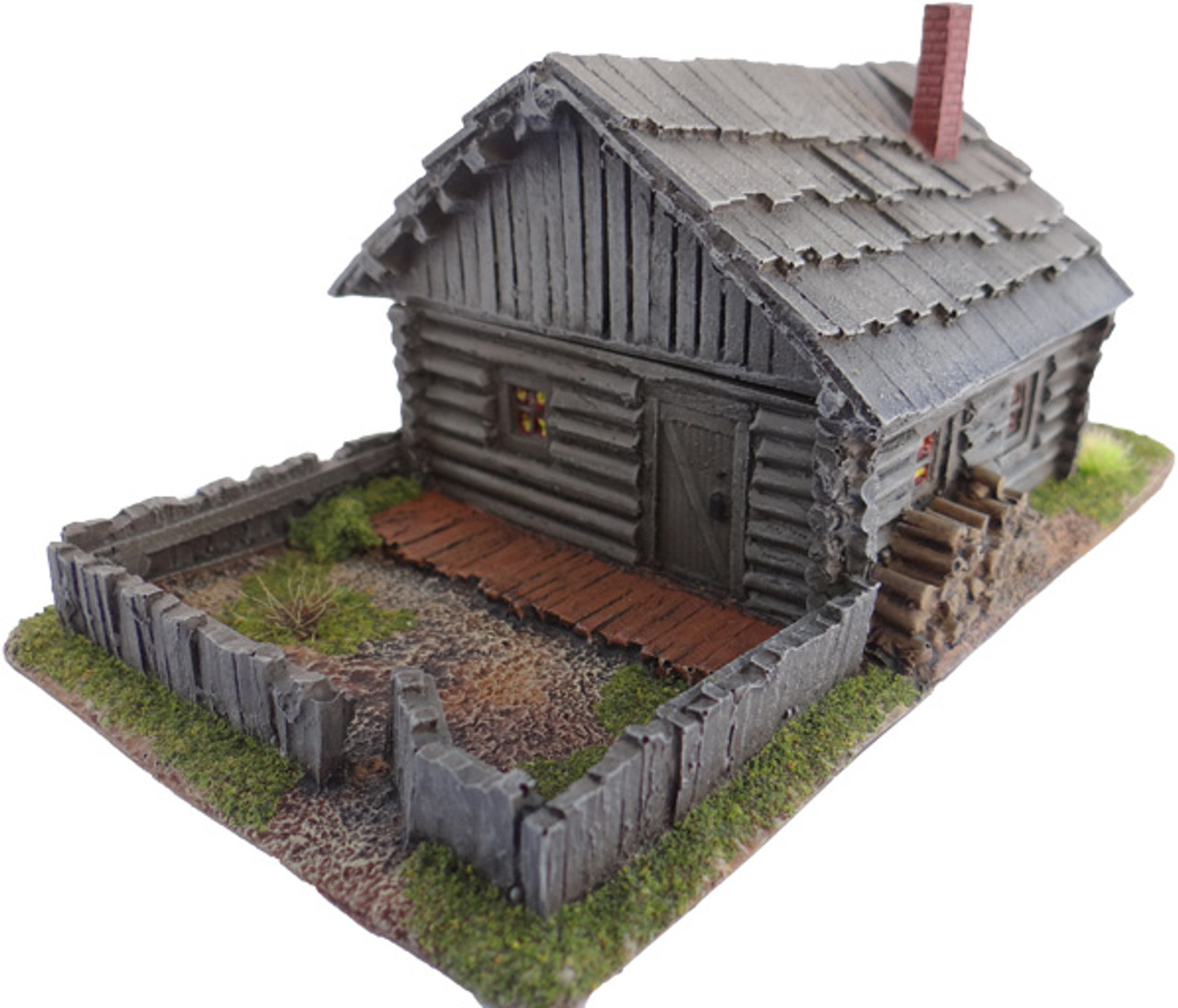 1073-Russian Peasant House