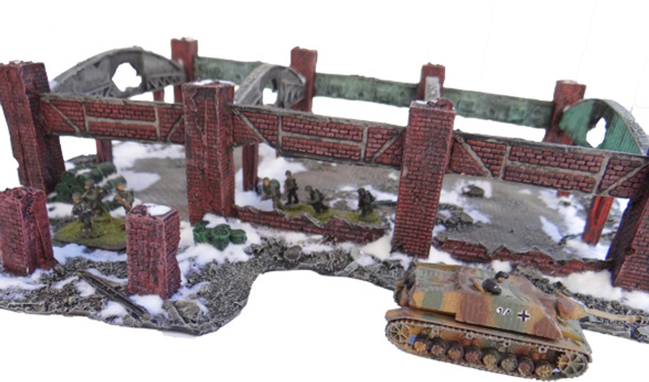 1079-Stalingrad Red October Factory Ruin