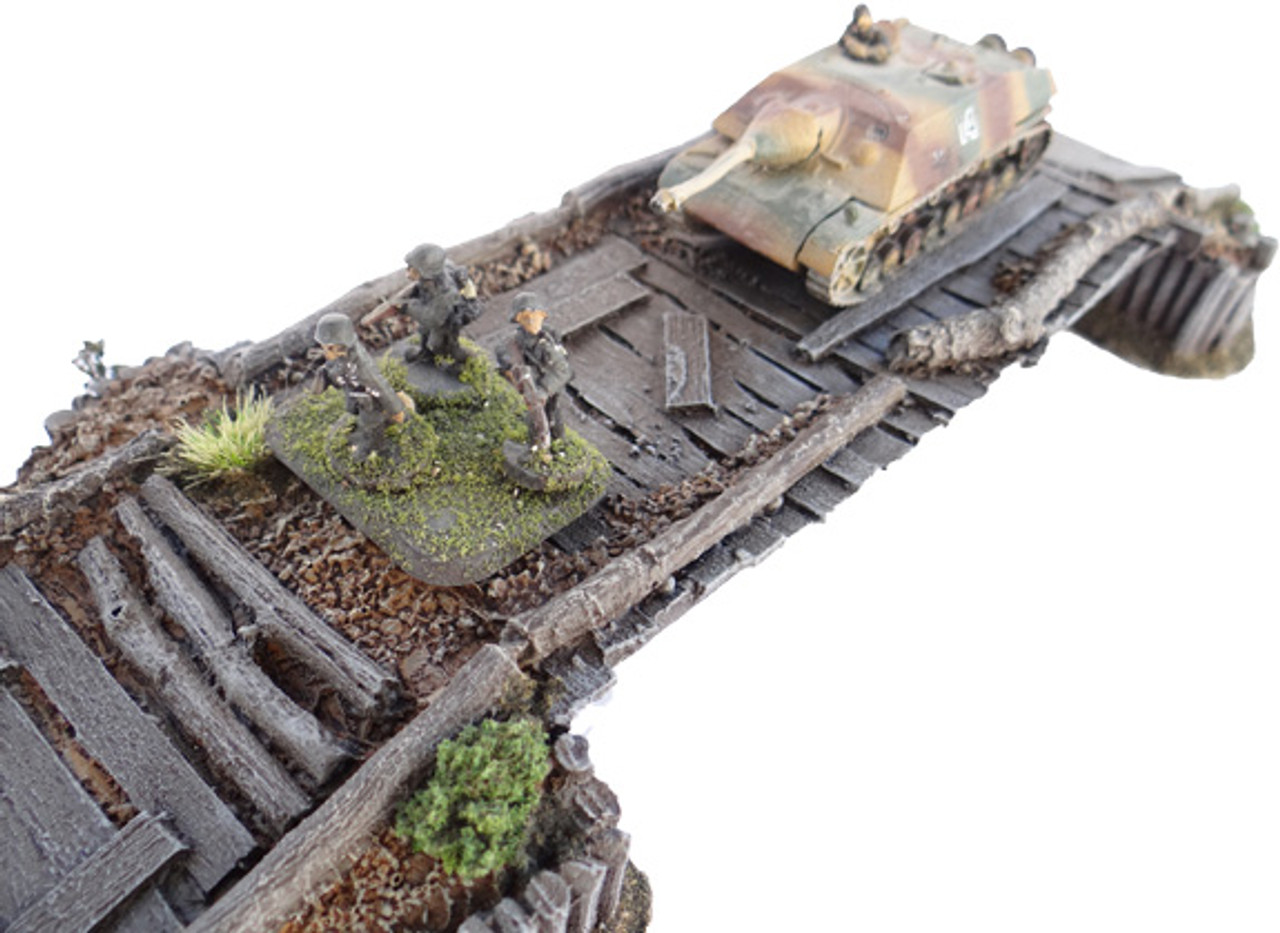 1081-Stalingrad Wooden Bridge