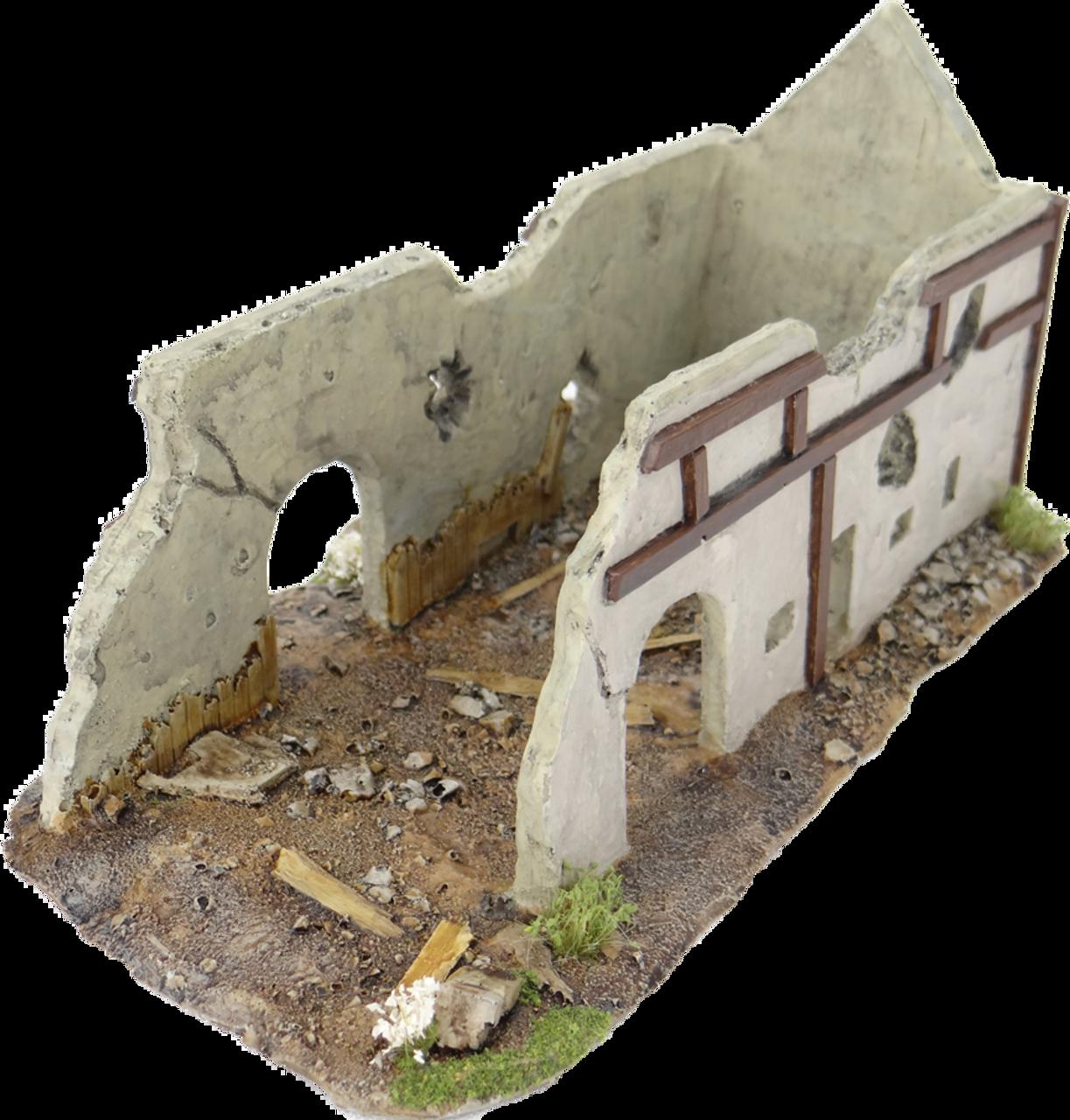 1318-Ruhr Valley Barn Ruin