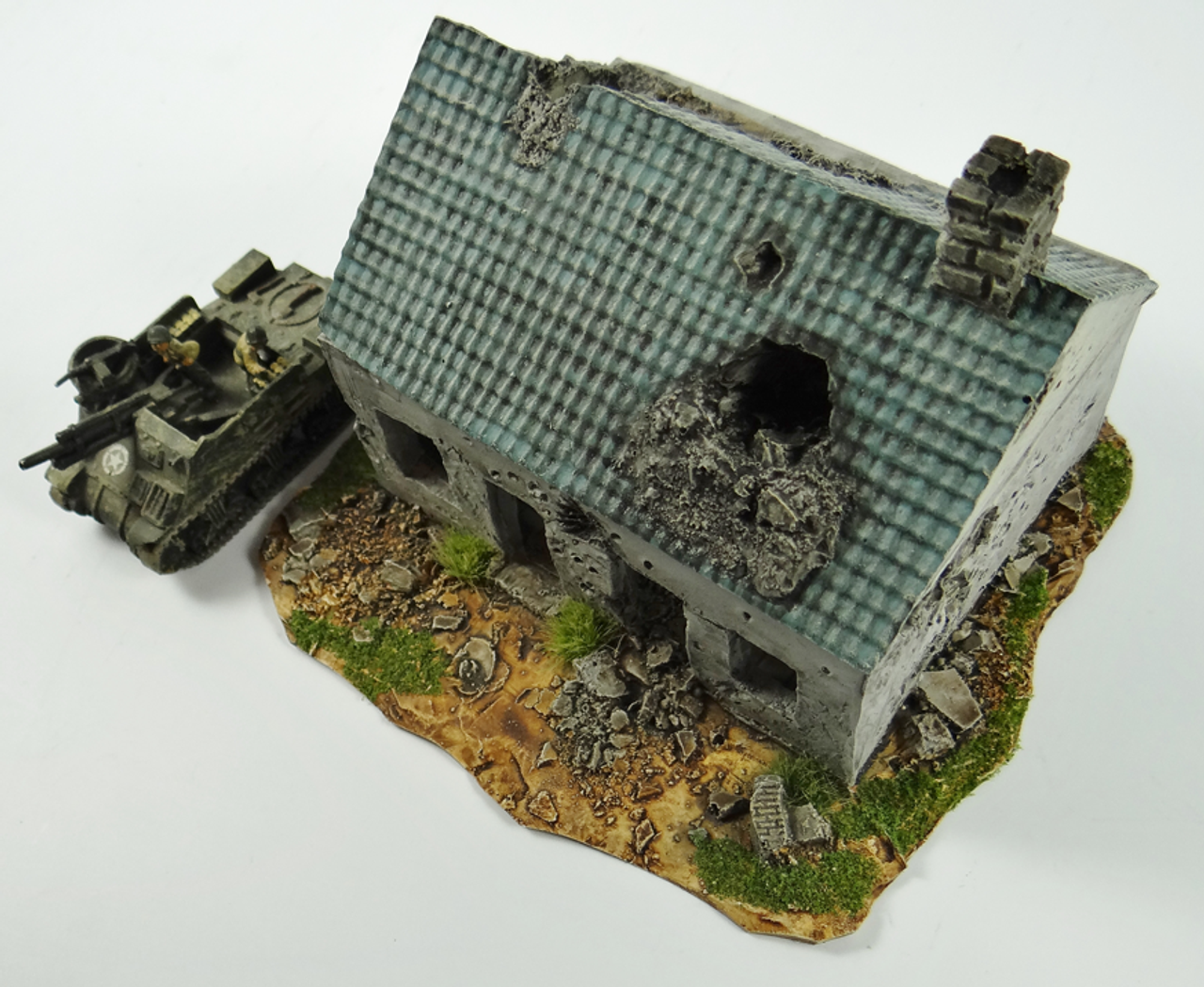 1002-Normandy Town House Ruin
