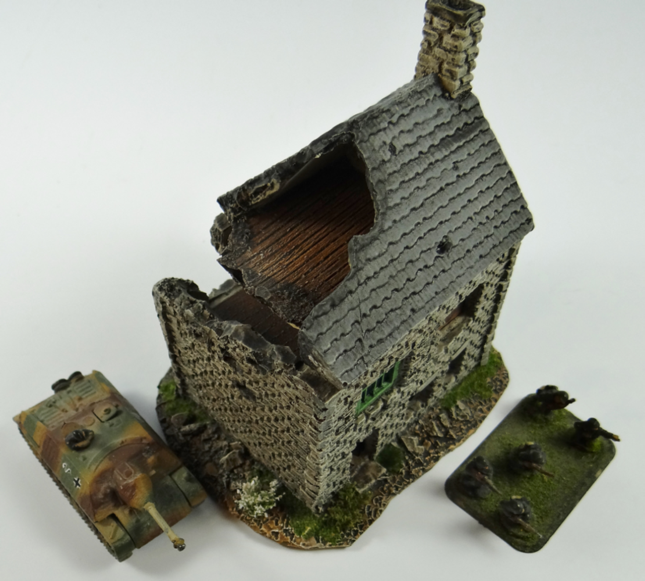 1003-Normandy Rowhouse Ruin-Brick