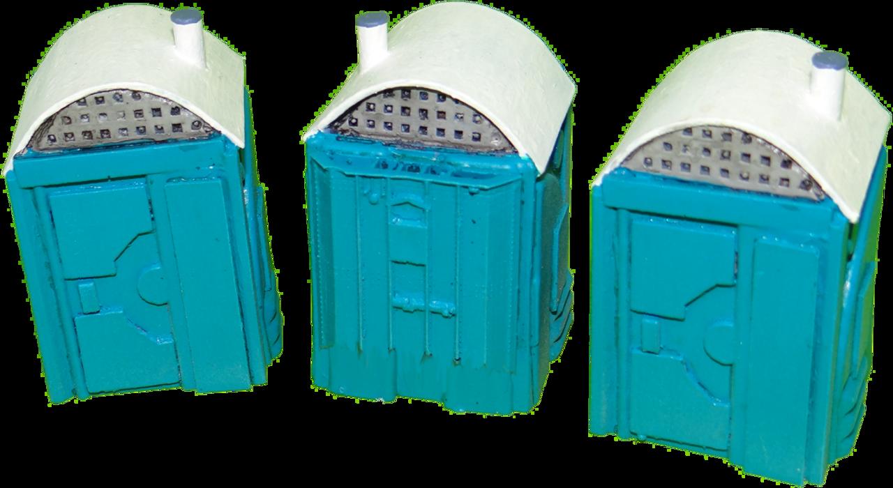 1038-Porta Potty 3ea