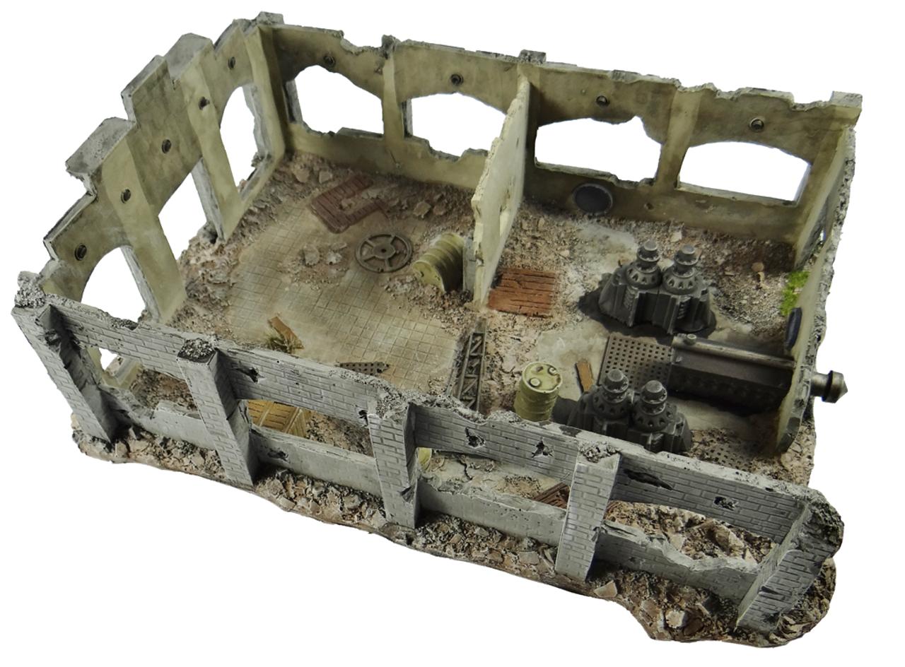 1050-Fabrication Plant Ruin
