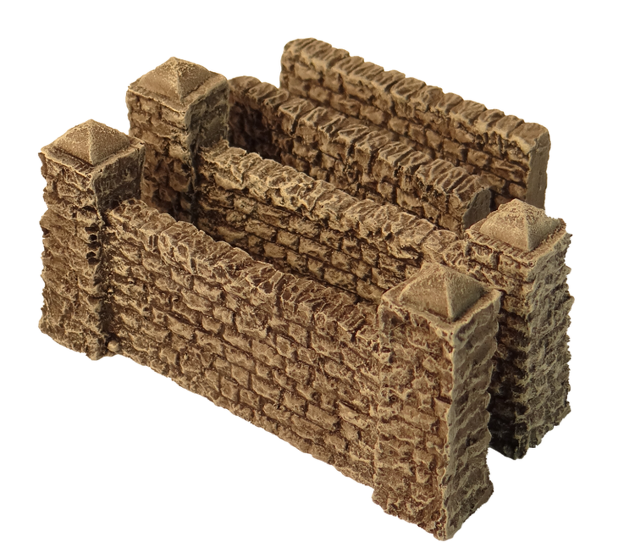 1061-Small Stone Walls 6pc