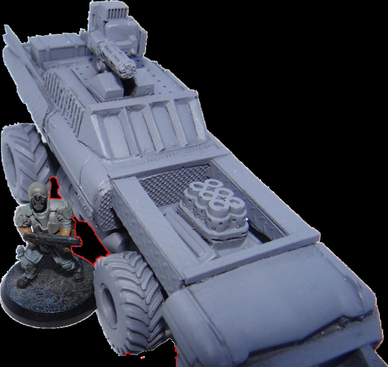 1225 -Zombie Slayer Vehicle