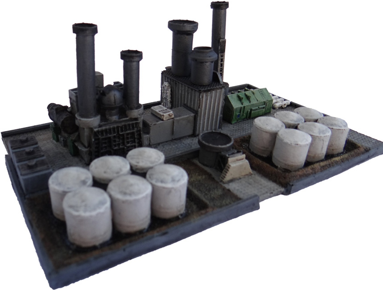 Industrial Oil Refinery 6mm scale