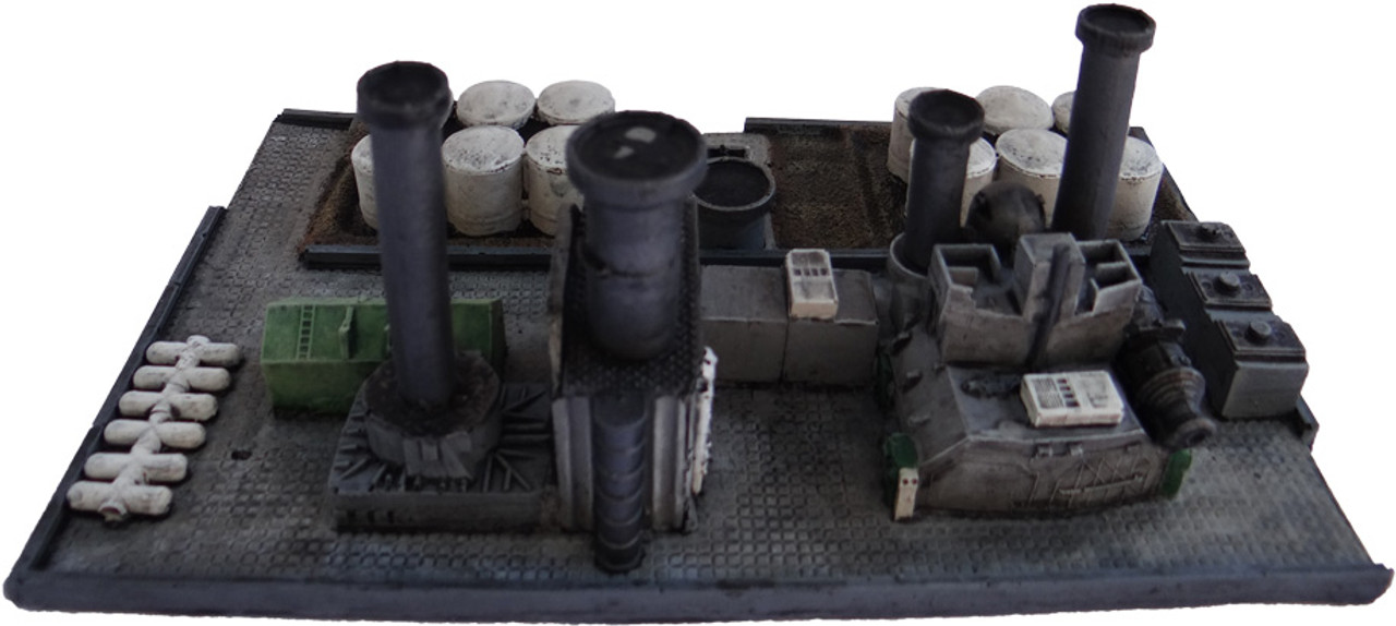 Top View 6mm Oil Refinery