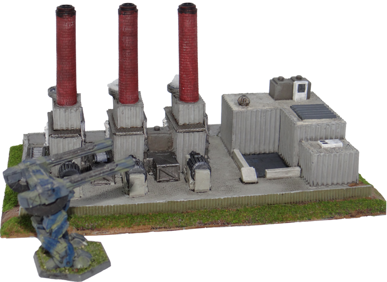 6mm Power Plant with BattleTech
