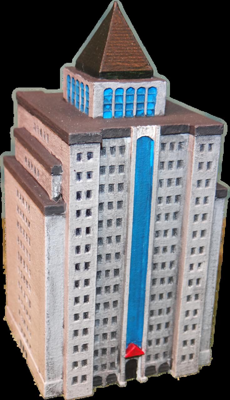 6mm City Building