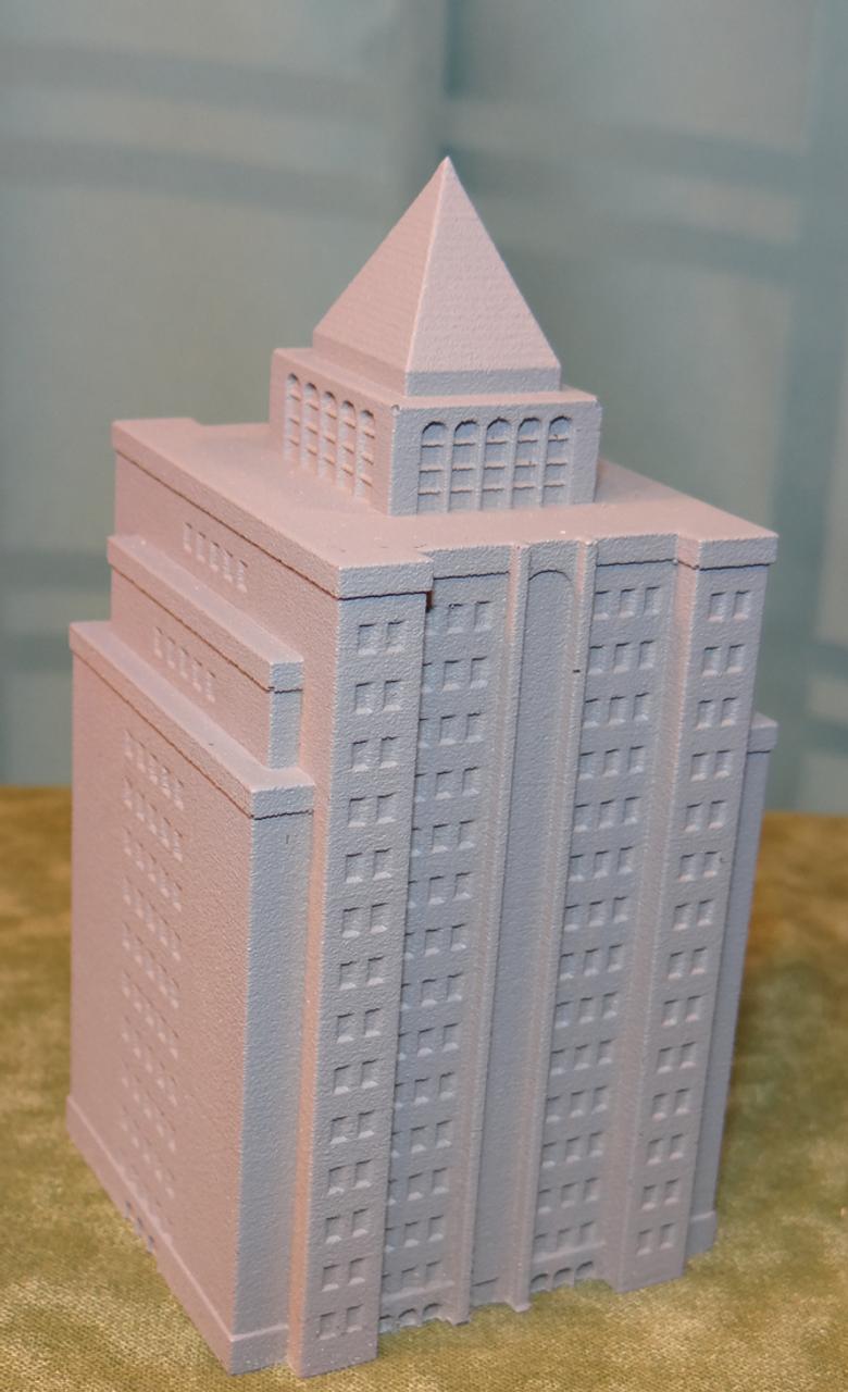 6mm Terrain High Rise Building