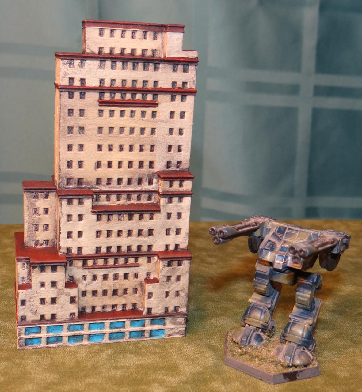 6mm Miniature Apartment Building