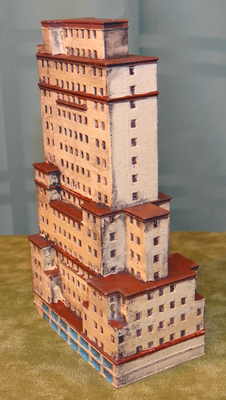 6mm Wargaming Apartment Building