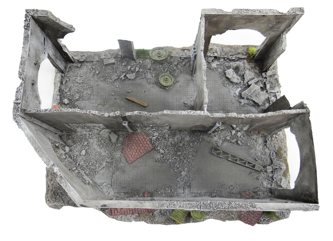 6mm Wargaming Terrain Ruin