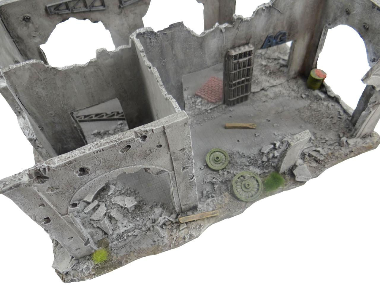 6mm WWII Terrain Factory Ruins