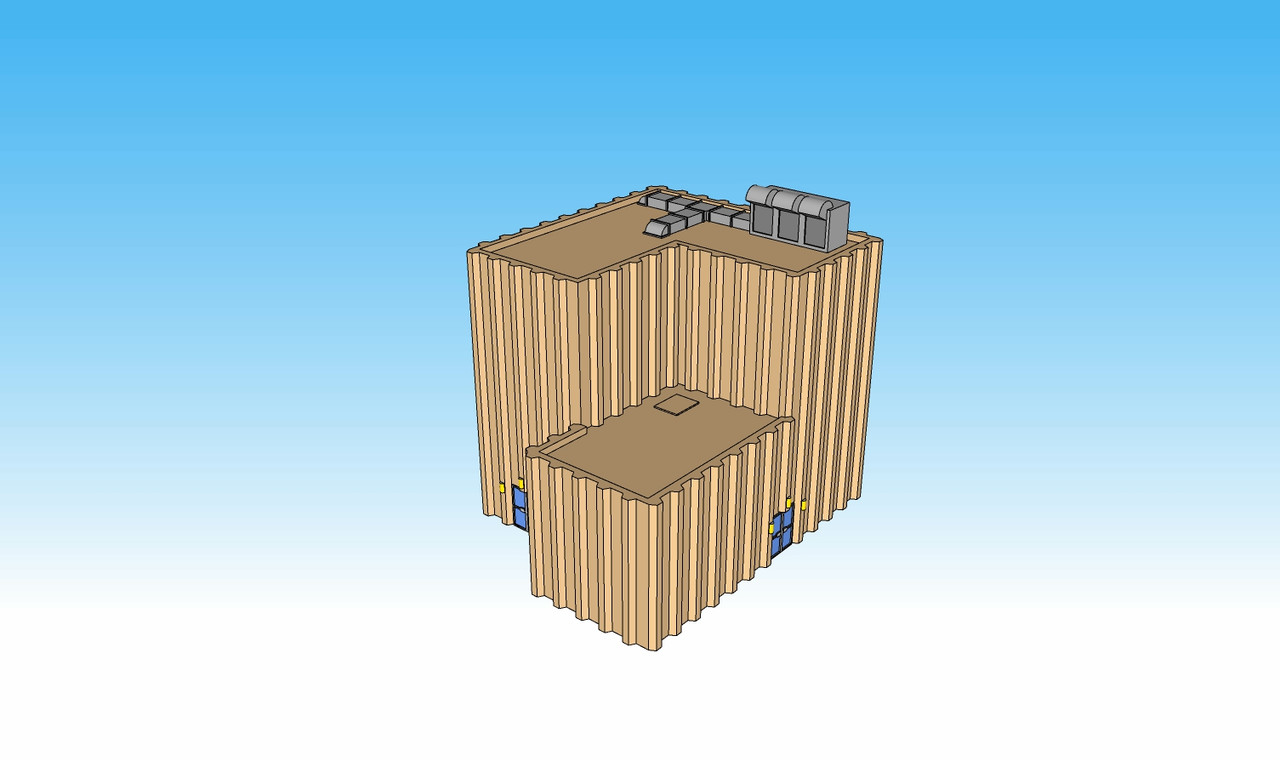 6mm Warehouse Illustration