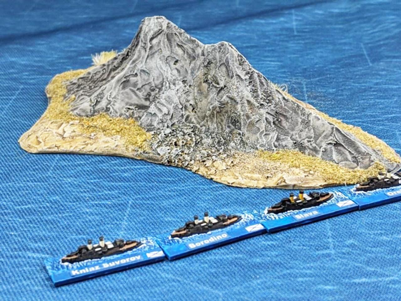 1267-1/700th Kayak Island Oval Shape