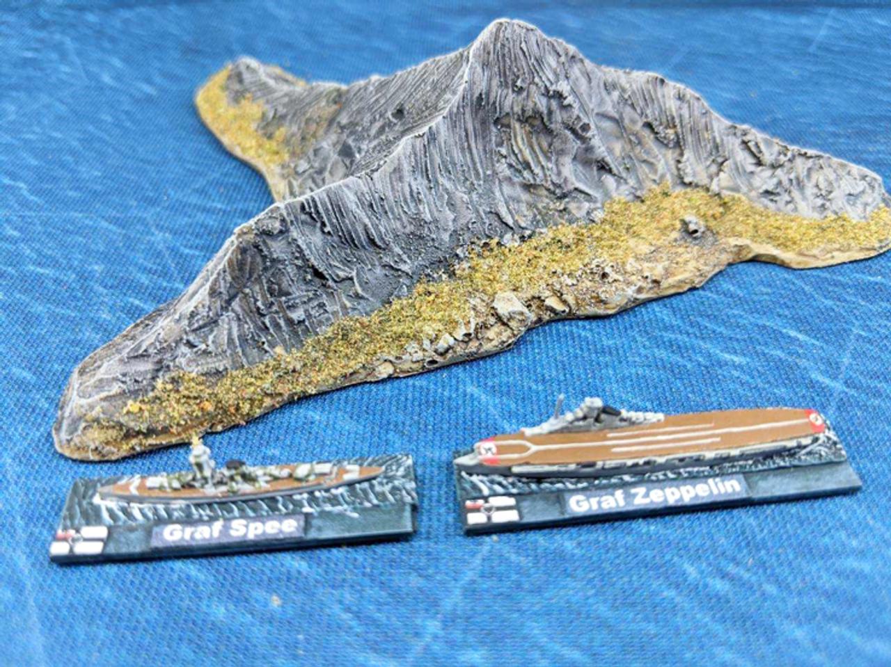 1268-1/700th Amores Island Y Shaped